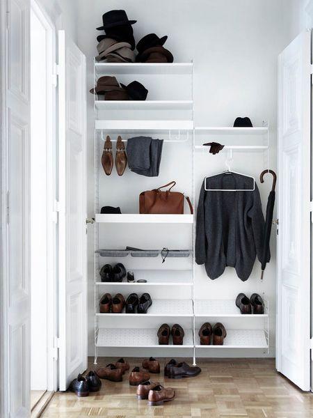 Rydd plass til skoene dine og hold orden i gangen