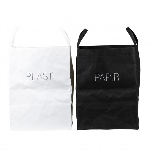 Papirposer  - oppbevaring og sortering
