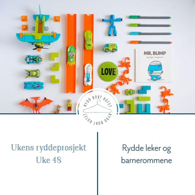 Gjør barnerommet klart til jul - Uke 48