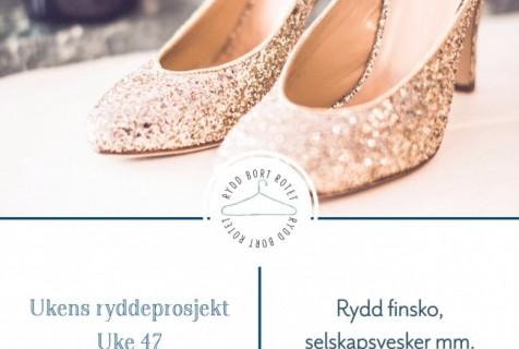 Rydde finsko, selskapsvesker og annet tilbehør – Uke 47